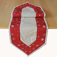 Raebel OHG Table Linen Christmas Embroidery Golden