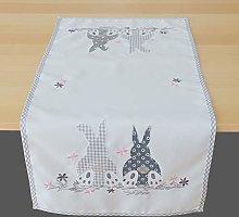 Raebel OHG Table Runner 40 x 85 cm Easter Bunny