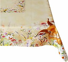 Raebel Tablecloth – Light Yellow Colourful