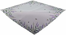 Raebel Tablecloth Middle Cover Lavender with Bees