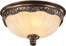 Raelf Ceiling Light Fixtures Retro Glass Lampshade