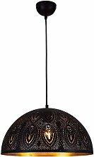 Raelf Hanging Lights Chandelier Black Vintage