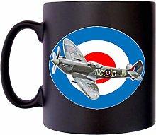 RAF Spitfire Flying Royal Air Force Plane Klassek