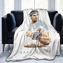 Rafael_Nadal Soft and Warm Throw Blanket Digital