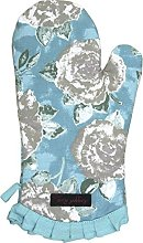 Ragged Rose Oven mitt, Cotton, Duckegg Blue, 34