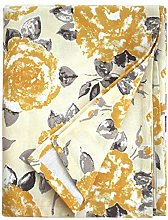 Ragged Rose Vintage Style Gold Rose Tablecloth