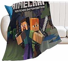 RaglMtC M-inecraft Blanket Cover Blanket 3D Mode