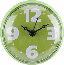 Raguso 3 Colors Waterproof Suction Wall Clock