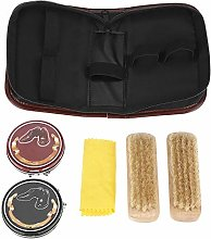Raguso 6Pcs Shoe Care Kit,Portable Boots Shoes