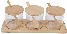 Raguso Condiment Storage Containers Seasoning Box
