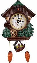 Raguso Cuckoo Wall Clock Wooden Vintage