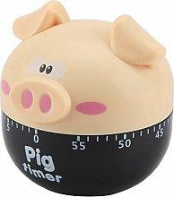 Raguso Cute Cartoon Timer Pig Shape Kitchen Timer