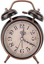 Raguso Wind Up Clock Alarm Clock Decoration for