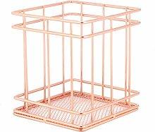 Raguso Wire Mesh Open Bin Shelf Storage Basket