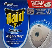 Raid Night & Day Mosquito and Fly Killer Disk 2