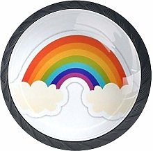 Rainbow Cabinet Knobs 4 Pieces Drawer Handle