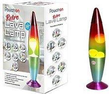 Rainbow Lava Lamp