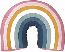 Rainbow Pillow Baby Pillows for Sleeping Toddler