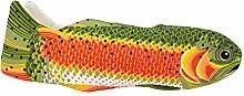 Rainbow Trout Oven Mitt, Quilted Cotton, Designed
