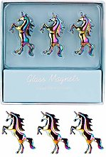 Rainbow Unicorn Fridge Magnets 3 Pack Unique 3D
