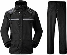 Raincoat Set of Jacket and Pant Rainwear Thickened