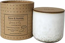 Raine & Humble Scented Canister Candle, Soy Wax