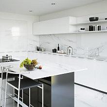 RAK Classic Carrara Grey Marble Full Lappato Tiles