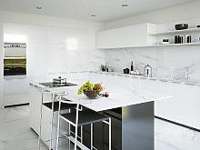 RAK Classic Carrara Grey Marble Honed Tiles - 600