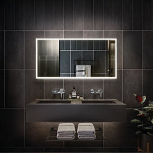 RAK Cupid LED Bathroom Mirror with Demister Pad
