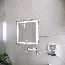 RAK Demeter Square LED Shaving Mirror 200 x 200mm
