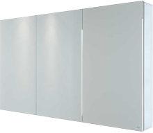 RAK Gemini Triple Door Aluminium Mirror Cabinet