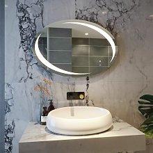 RAK Hades LED Bathroom Mirror Demister Pad Oval