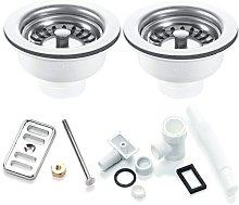 RAK Kitchen Sink Waste and Overflow Pack For 2