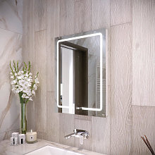 RAK Pegasus LED Bathroom Mirror with Demister Pad