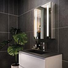 RAK Sagittarius LED Aluminium Mirror Cabinet -