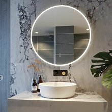RAK Scorpio LED Bathroom Mirror Demister Pad Round