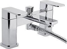 RAK Square Bath Shower Mixer Tap Deck Mounted -