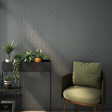 RAK Subway Metro Dark Grey Glossy Tiles - 100 x