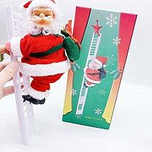 RALMALL Christmas Electric santa clause Toys Wall
