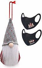 RALMALL Christmas Gnomes Plush Long Hat Cute Santa