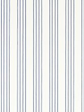 Ralph Lauren Palatine Stripe Wallpaper, Porcelain