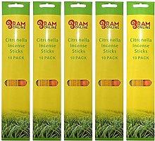 Ram© 180 X Citronella Incense Sticks Insect