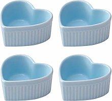 Ramiken Set Ceramic Baking Pudding Bowl Cake Cup