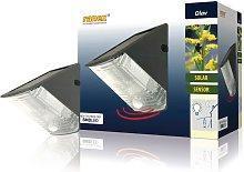 Ranex Solar Wall Light with PIR Sensor 0.5 W Black