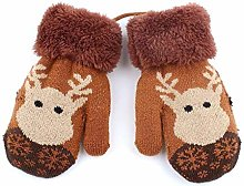 RANFEI Christmas Baby Winter Thermal Cartoon Deer