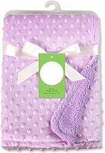 RANFEI Newborn Baby Blankets Warm Fleece Thermal