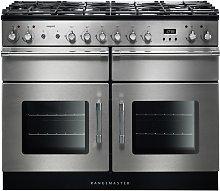 Rangemaster Esprit Dual Fuel Range Cooker - S/Steel