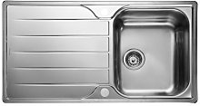 Rangemaster Michigan Single Bowl Stainless Steel