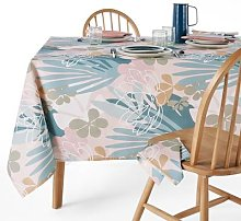 Raoni Patterned Polycotton Tablecloth by La Redoute
