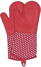 Raoul Oven Gloves Symple Stuff Colour: Red